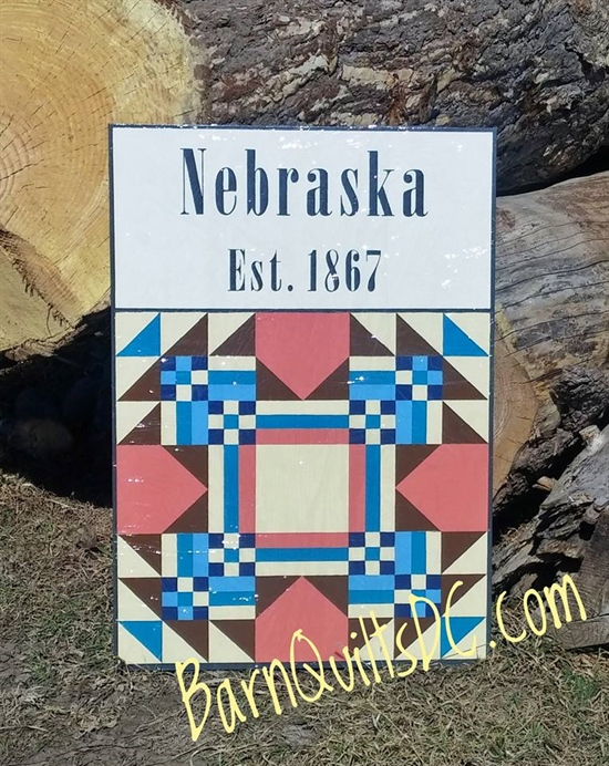 50 States Barn Quilt Display